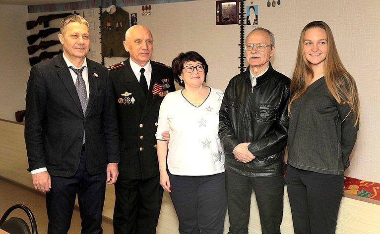 Людмила Талабаева накануне Дня Великой Победы приняла участие вторжественном открытии Центра патриотического воспитания молодёжи