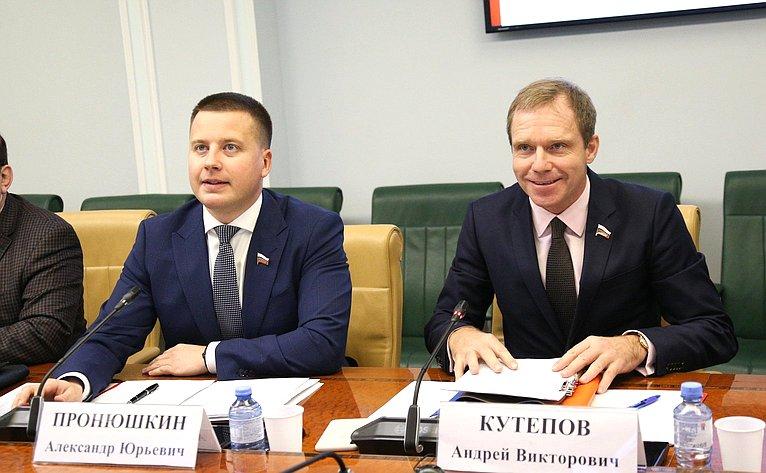 Александр Пронюшкин иАндрей Кутепов