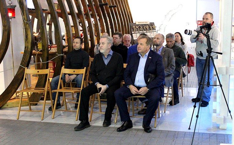 Виктор Павленко обсудил спредставителями общественности подготовку к75-летию Великой Победы