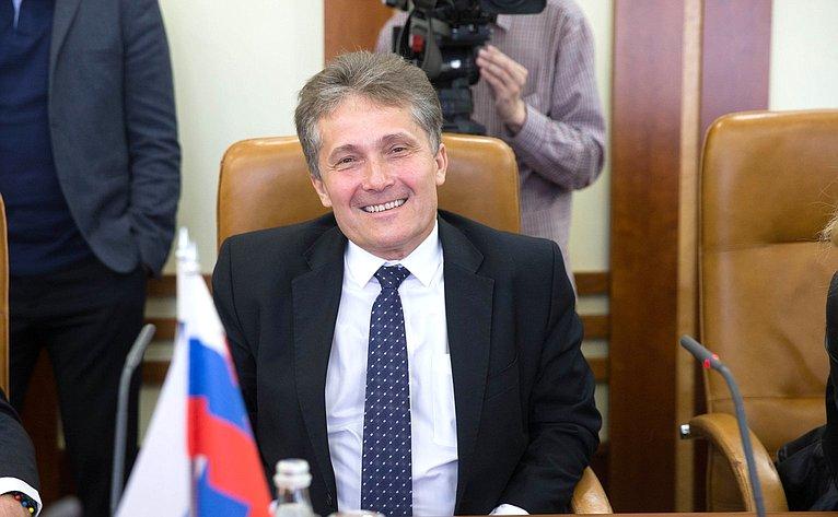 Встреча руководителей групп дружбы между Советом Федерации иНациональным советом Словакии