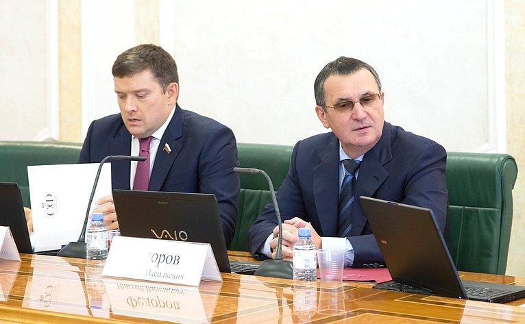 Сергей Иванов иНиколай Федоров