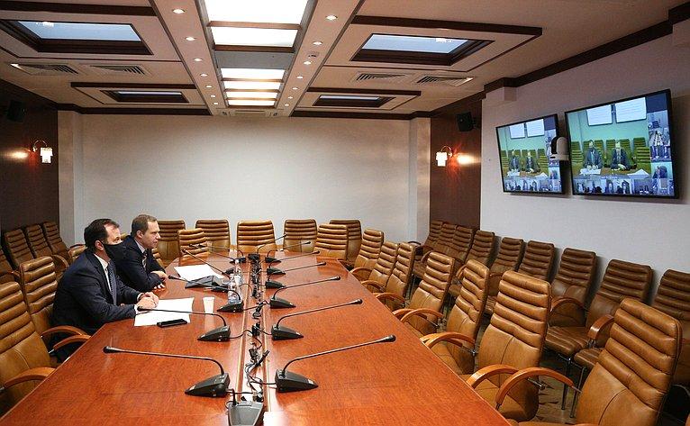 «Круглый стол» натему «Омерах попротиводействию производству ииспользованию контрафактной продукции для авиационной техники» вформате видеоконференции