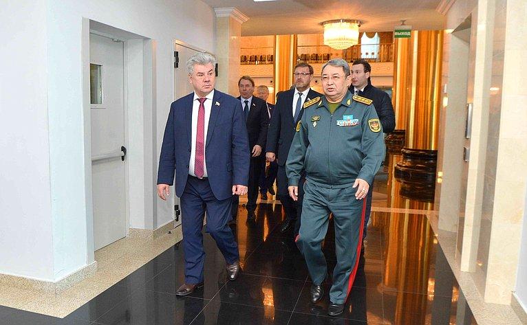 Визит делегации СФ вАстану (Казахстан)