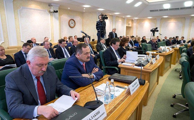 Встреча В. Матвиенко состатс-секретарями– заместителями руководителей федеральных органов исполнительной власти