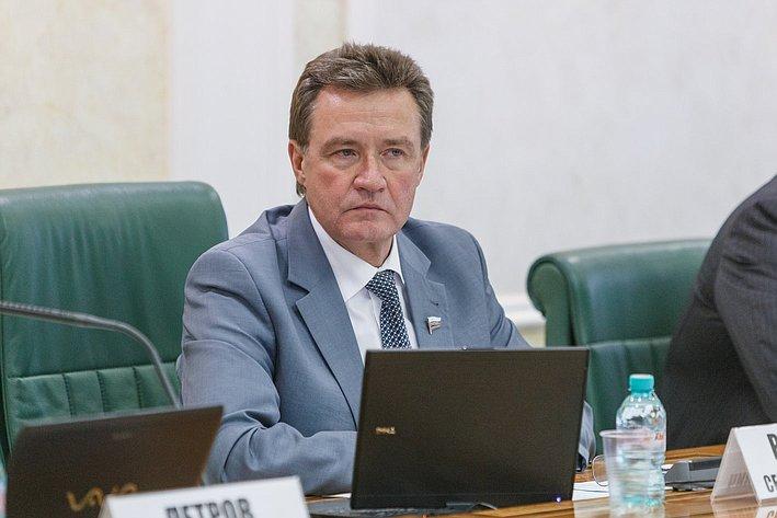 С. Рябухин Расширенное заседание Комитета СФ по бюджету и финансовым рынкам