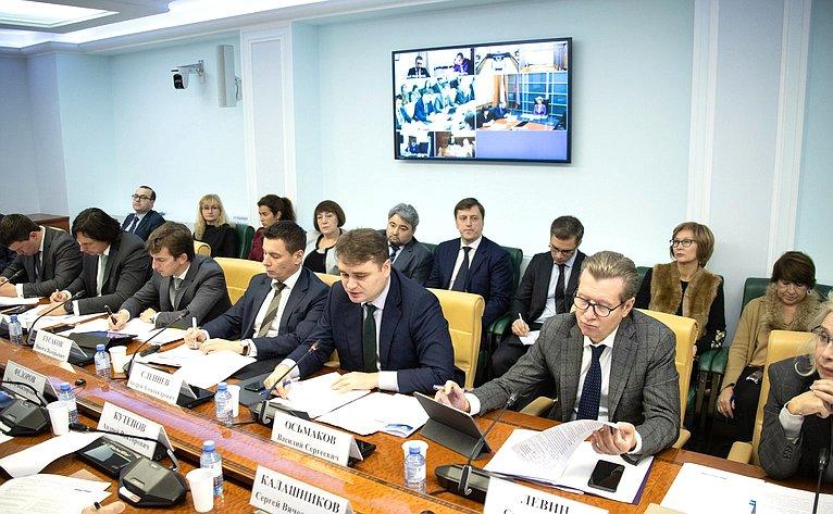 «Круглый стол» натему «Реализация национального проекта «Международная кооперация иэкспорт»