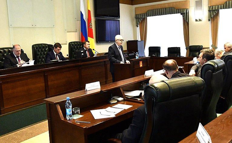Андрей Епишин находится срабочим визитом вТверской области