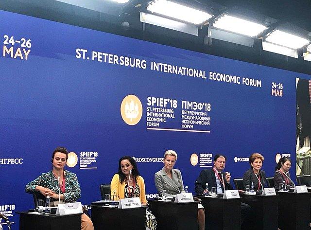 Г. Карелова приняла участие вработе Международного форума «Увеличение вклада женщин вэкономический рост ипроцветание: создание благоприятной среды» (ЮНИДО)