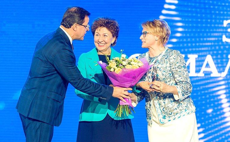 Галина Карелова приняла участие вторжественной церемонии награждения лауреатов Премии «Импульс добра»