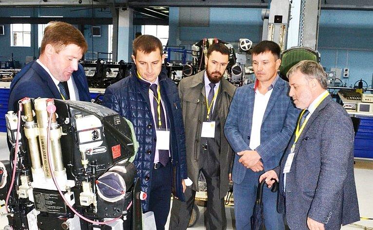 Встреча сколлективом промышленных предприятий Кировской области