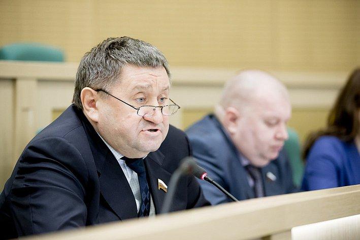 370-е заседание Совета Федерации М. Пономарев