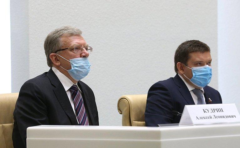 Алексей Кудрин иНиколай Журавлев