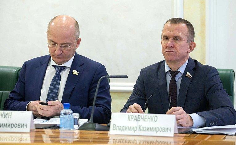 О. Цепкин иВ. Кравченко