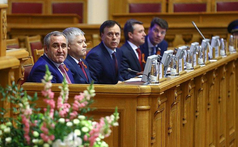 Сенаторы приняли участие вмероприятиях Совета законодателей России