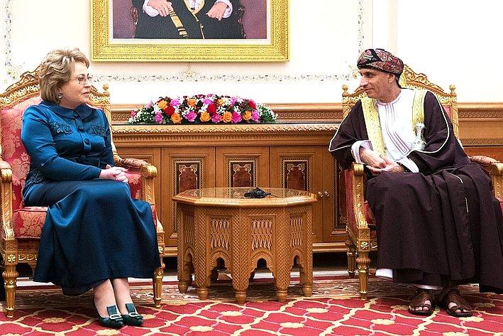 Встреча В. Матвиенко сФахд Бен Махмуд Аль Саидом