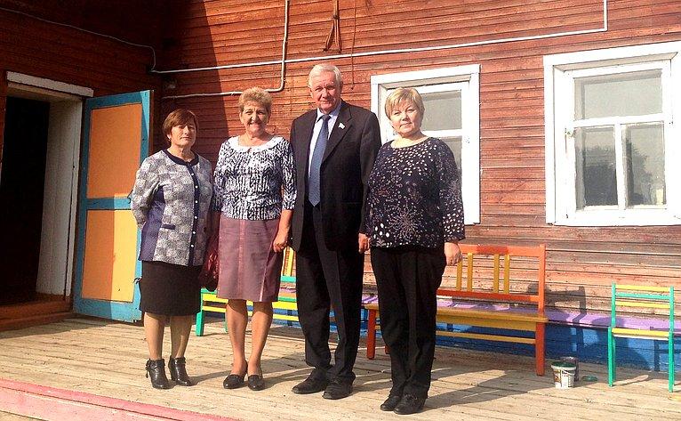 Валерий Марков посетил учреждения образования городского округа «Ухта» имуниципального района «Ижемский»
