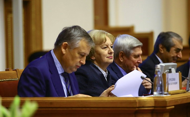 Пятидесятое пленарное заседание Межпарламентской ассамблеи государств-участников СНГ