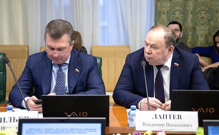 Валерий Васильев иВладимир Лаптев