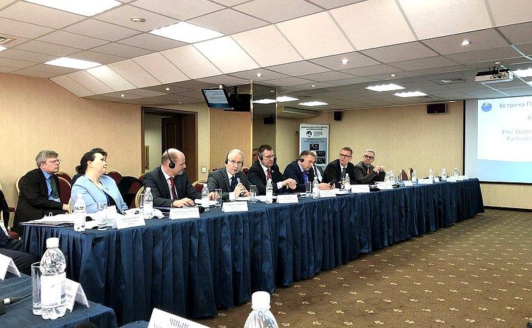 Заседание Постоянного Комитета парламентариев Арктического региона вМурманске