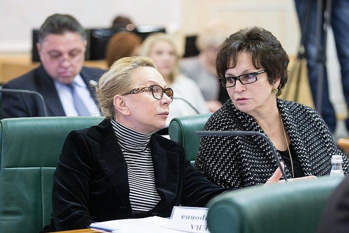 Косткина и Лахова. Заседание Совета по местному самоуправлению при верхней палате парламента