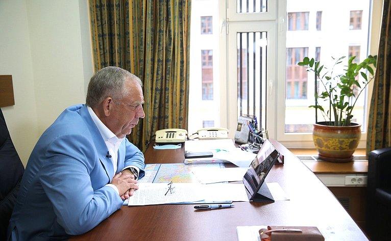 Заседание Комиссии Правительства РФ повопросам развития рыбохозяйственного комплекса