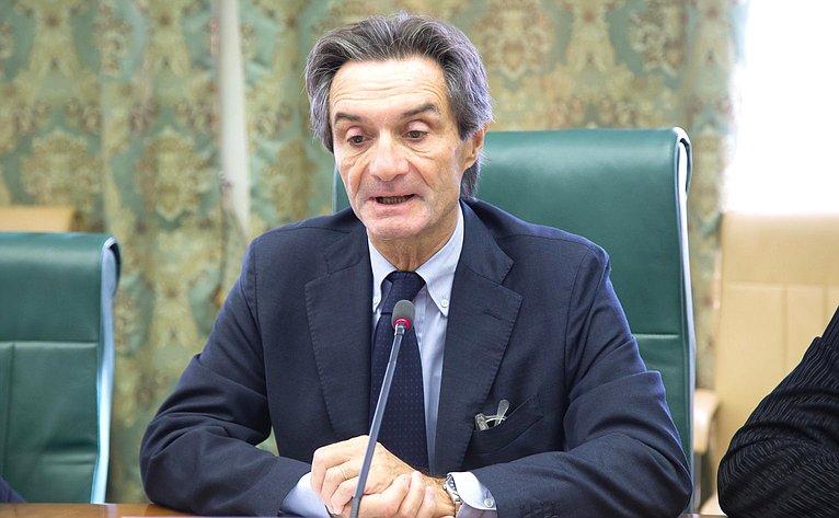 Президент Ломбардии А. Фонтана