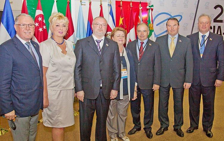 АТПФ в Мексике. Российская делегация.