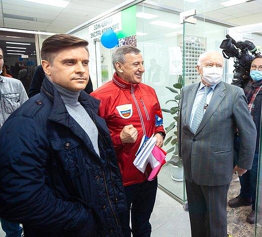 Юрий Архаров принял участие воткрытии Всероссийской акции «Десять тысяч шагов кжизни»