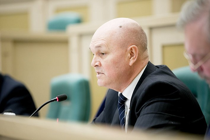 370-е заседание Совета Федерации М. Щетинин