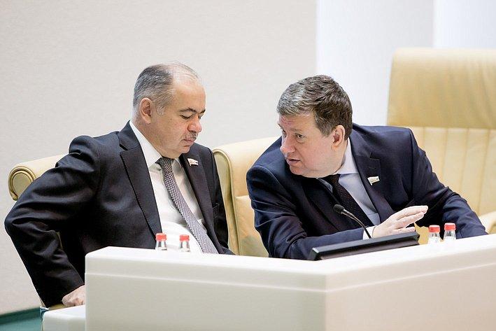 368-е заседание Умаханов и Бушмин