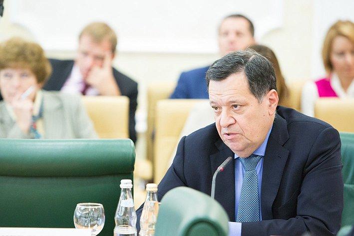 Заседание Президиума Совета законодателей РФ и Консультативного совета по межнациональным отношениям -1