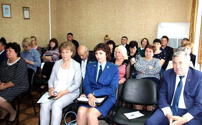 Татьяна Гигель приняла участие взаседании шестой сессии Совета депутатов муниципального образования «Чойский район»