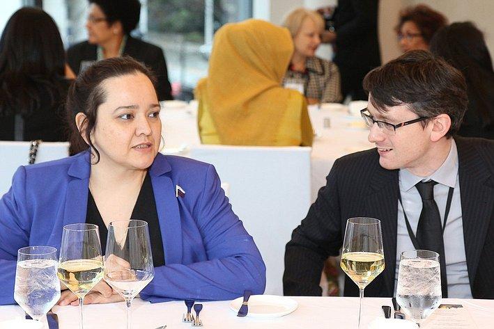 А. Отке на24-й сессии АТПФ вВанкувере (Канада)