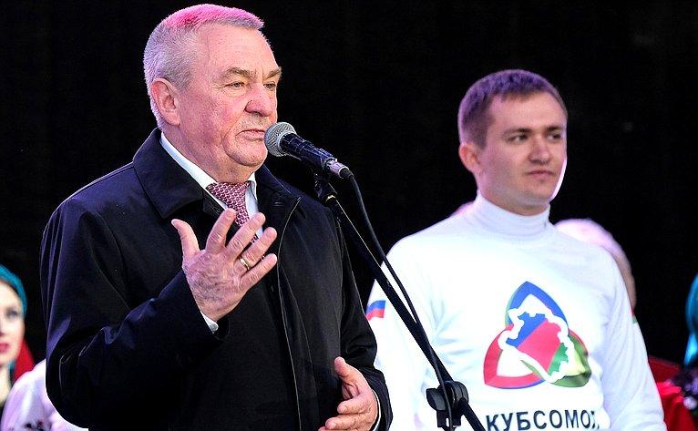 В. Бекетов принял участие вмероприятиях, посвященные Дню народного единства