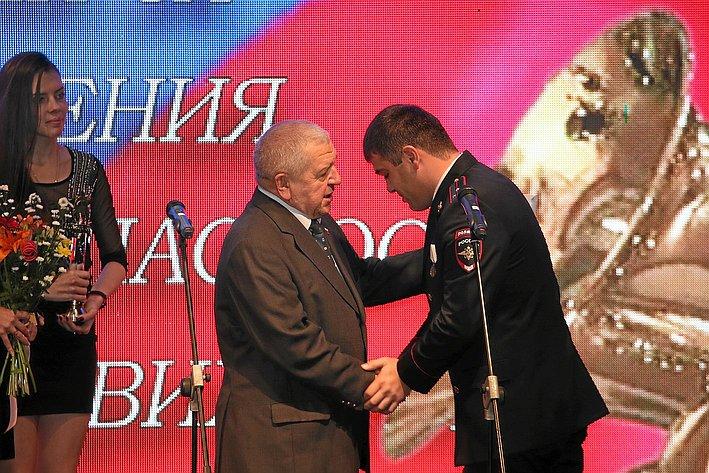 В. Федоров принял участие в ежегодной церемонии вручения Национальной премии за достижения в сфере безопасности дорожного движения «Безопасность – дело каждого»