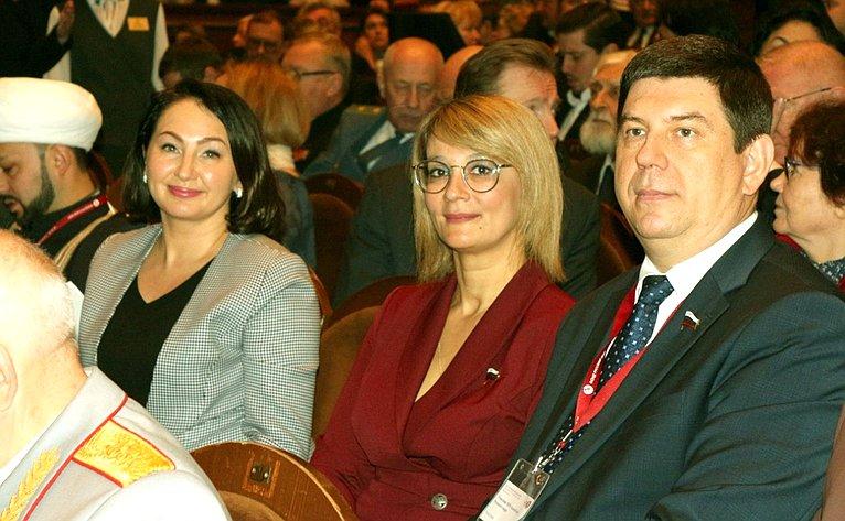Наталия Косихина иВиктор Смирнов приняли участие вработе XIII Ассамблеи Фонда «Русский мир»