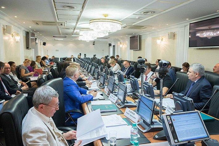 Заседание Комитета Совета Федерации по международным делам
