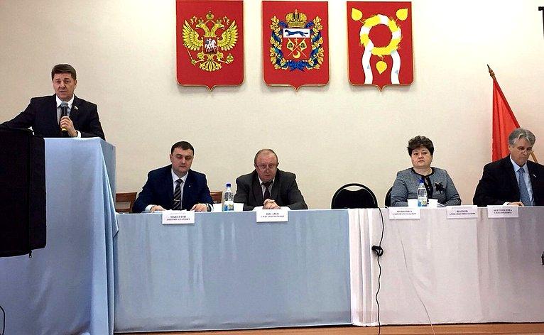 А. Шевченко принял участие вряде региональных совещаний поподготовке квесенней посевной кампании