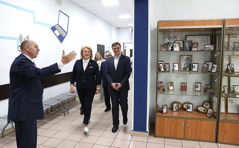 ЛилияГумерова встретилась состудентами ипреподавателями Московского колледжа связи №54 имени П.М.Вострухина