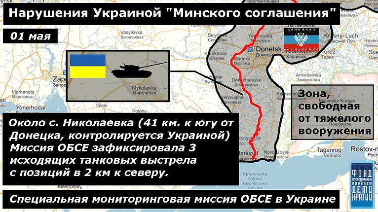 Фото нарушения минских соглашений 2 01-05