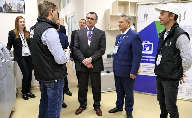 Н. Федоров посетил Ставропольский государственный аграрный университет