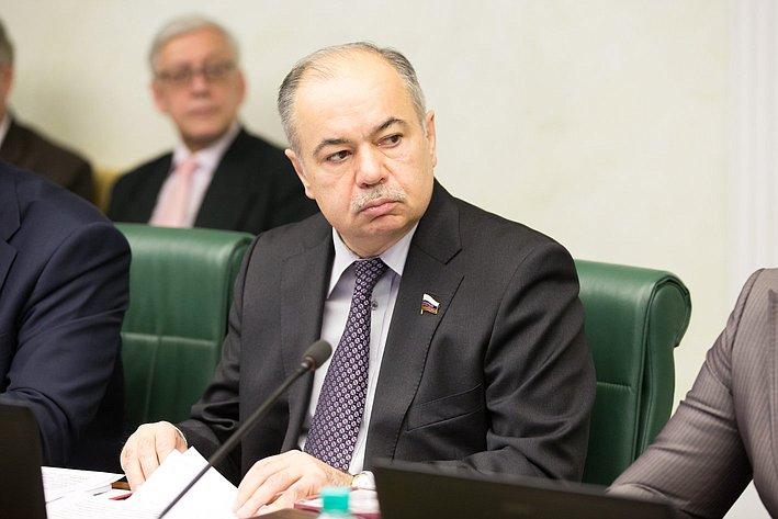 И. Умаханов Заседание Интеграционного клуба
