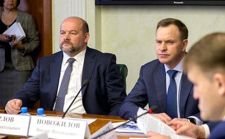 И. Орлов иВ. Новожилов