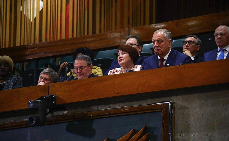 Делегация Совета Федерации приняла участие взаседании Национальной ассамблеи Республики Замбия
