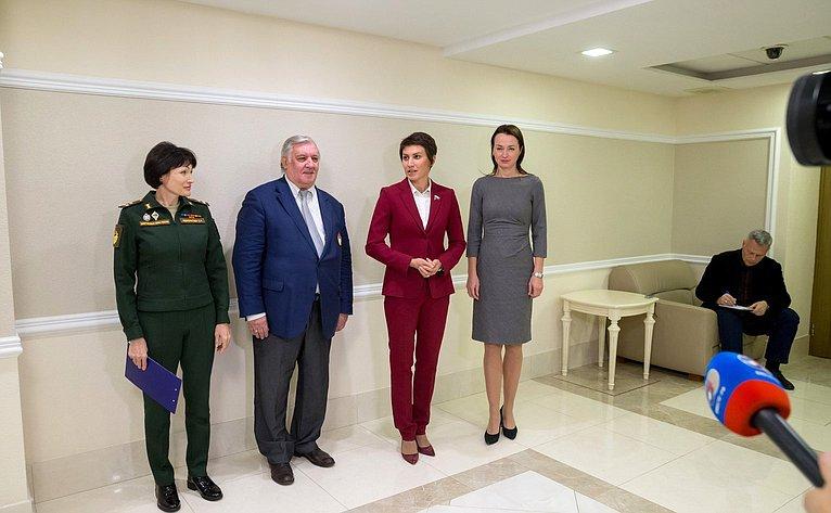 Открытие вСовете Федерации выставки «ЦСКА: прошлое, настоящее, будущее»