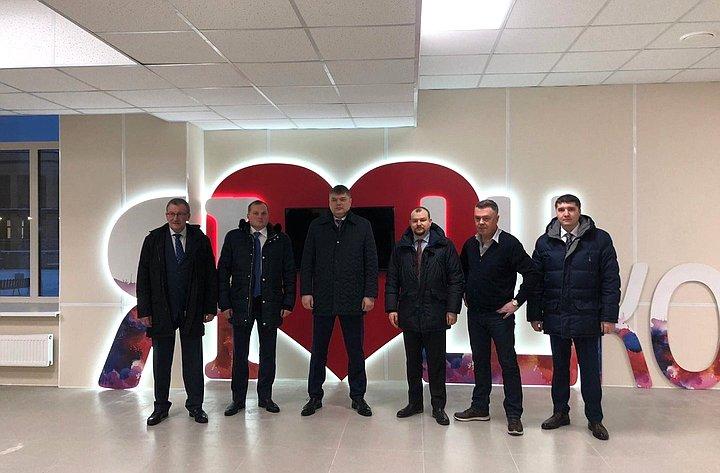 Дмитрий Василенко принял участие вторжественном открытие нового коворкинг-центра вШлиссельбурге