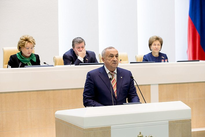 379-е заседание Совета Федерации. Удмуртия