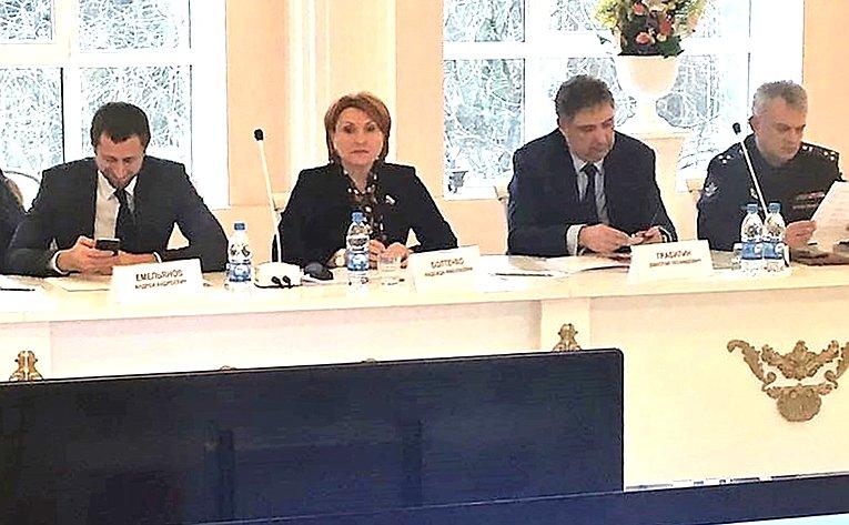 Надежда Болтенко приняла участие врасширенном выездном заседании Совета Министерства образования инауки РФ покадетскому образованию