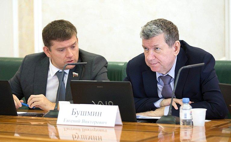 Николай Журавлев иЕвгений Бушмин