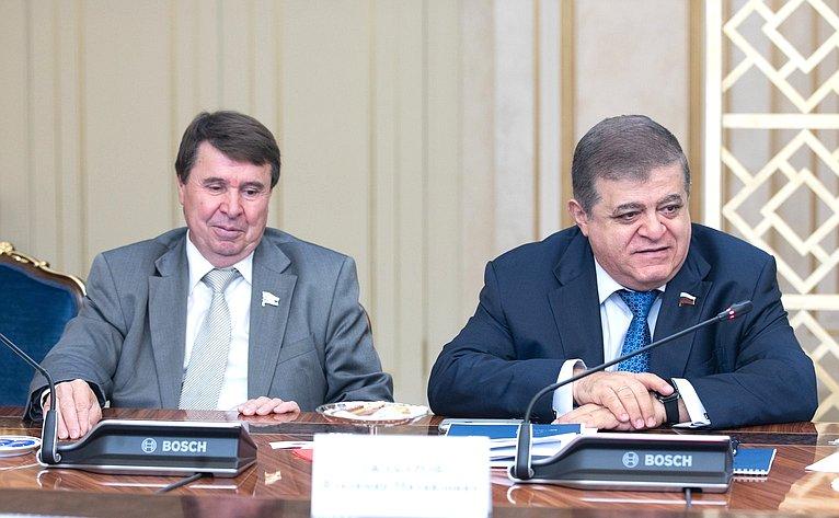 Сергей Цеков иВладимир Джабаров